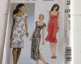 Sewing Pattern McCalls M4870 (BB) 1950s Style Sewing Pattern - Dress sewing Pattern - Vintage Style Dressmaking Pattern