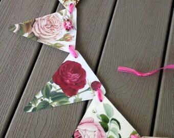 Romantic Roses Bunting