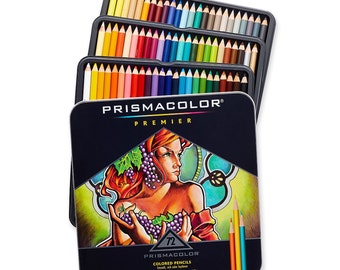 72 Prismacolor Premier Colored Pencils | Prismacolor Pencils, Colored Pencil Set, Gifts for Artists, Color Pencils, Artist Gifts, Coloring
