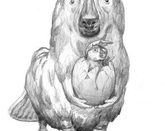 Arctic Woalies (drawing)