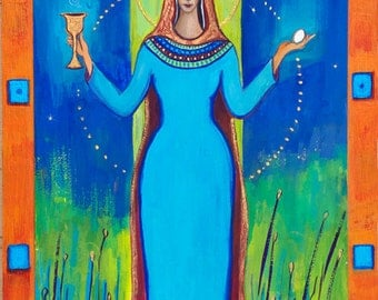 Goddess Art - Mary Magdalene, Priestess of Christ
