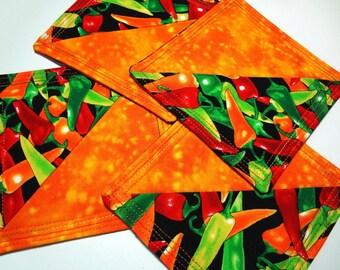 SALE Fiesta Fabric Coasters Set (4)