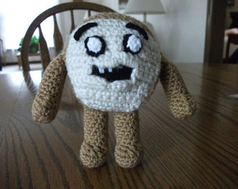 Crochet Cinnamon Bun from Adventure Time, Made to Order