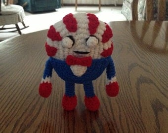 Crochet Peppermint Butler from Adventure Time, Made to Order