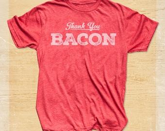Bacon Shirt - Thank You Bacon T Shirt