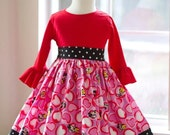Ready to Ship Minnie and Mickey Dress size 2 and 4