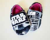 Star Wars Baby Shoes - Star Wars Baby Girl Or Baby Boy Booties - Baby Gift - Newborn Baby Shoes - Made To Order - Crib Shoes - Baby Shower