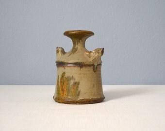 Vintage Studio Pottery Vase - Signed Charlotte Arnold