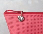Heart Zipper Charm, Heart Zipper Pull