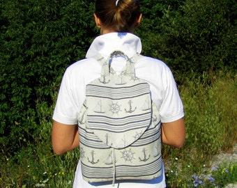 Women's Backpack Festival Backpack Backpack Rucksack  Small Women's Backpack Boho Backpack School Backpack New Tapestry Backpack ANCHOR