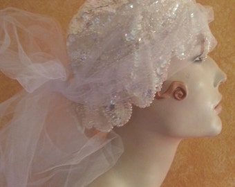 60 Pc Wholesale Lot of Vintage Victorian & Gatsby Flapper Bridal Headpieces And Accessories