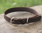 Big Leather Dog Collar