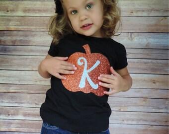 Pumpkin Fall Shirt, Monogram Pumpkin Shirt, Pumpkin Patch Shirts, pumpkin patch outfit, thanksgiving outfit, girls pumpkin shirt