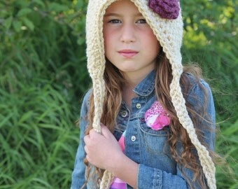 Pixie Hat, Gnome Hat, Child's Pixie Hat, Fall Fashion, Winter Accessory, Winter Fashion, Child's Winter Hat