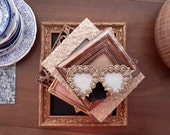 Shabby Chic Gold Picture Frames, Wedding Frames, Elegant Frames, Navy and Gold, vintage picture frames