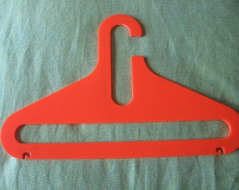 70s vintage high quality hard plastic hangers