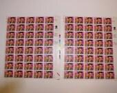 Elvis Presley U.S. Commemorative 1992 29 Cent Postage Stamp - 2 Sheets of 40 Stamps - PRICE REDUCED