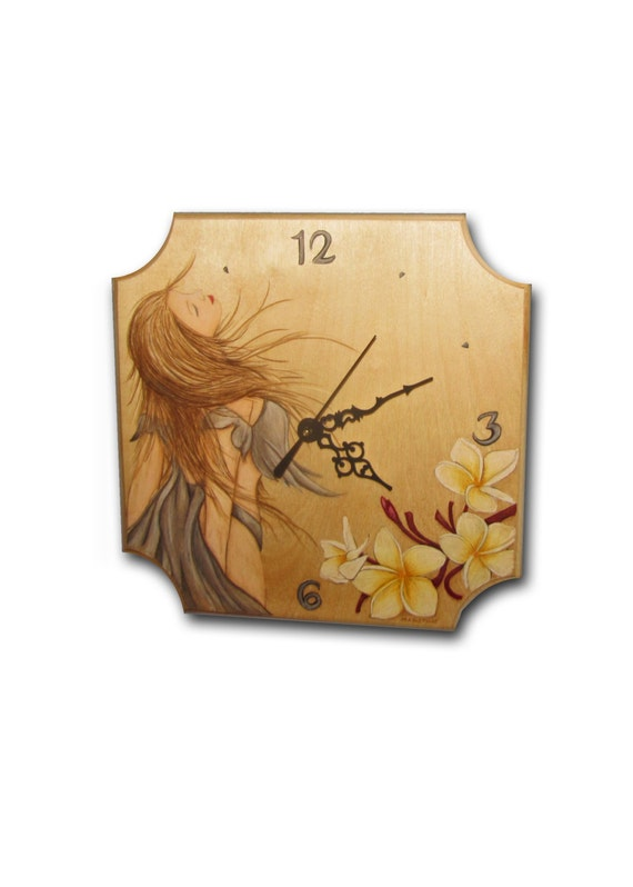 Sale Clock Handmade Unique Clock Wood Wall Clock
