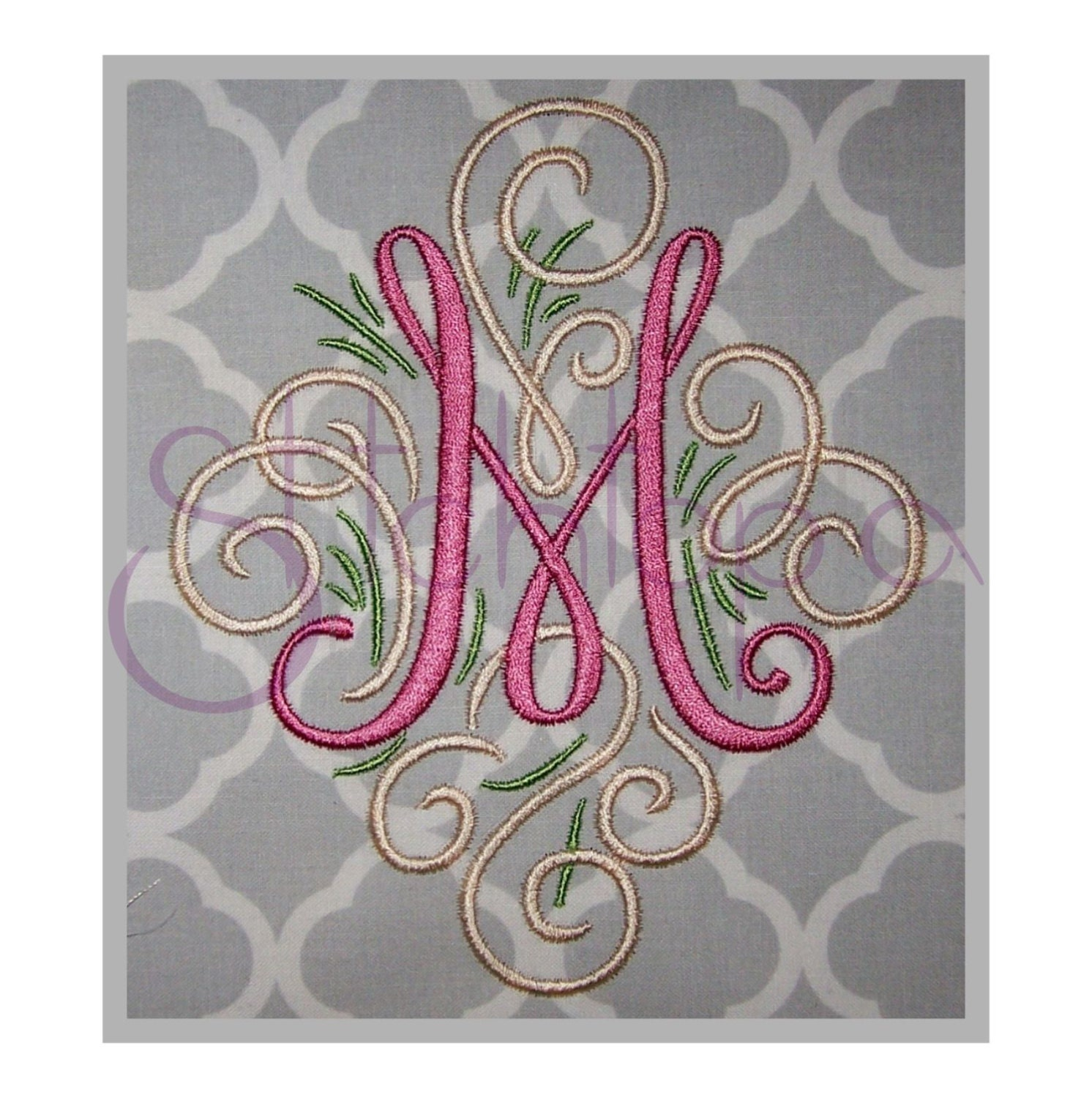 monogram machine embroidery