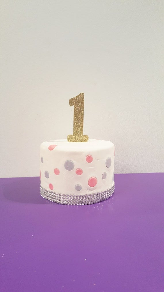 First Birthday Cake Topper Birthday Cake Topper 1st Birthday