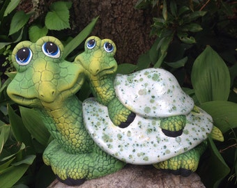 garden turtle  etsy, Garden idea