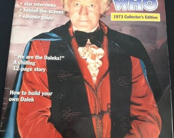 Doctor Who - 1973 Collectors Edition - Magazine