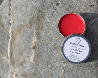Rose Geranium Tinted Lip Balm