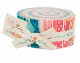 Bright Sun - Jelly Roll by Sheri & Chelsi for Moda