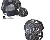 Toddler & Kids Trucker Hat / Baby Trucker Hat / Kids Snapback / TRIANGLE