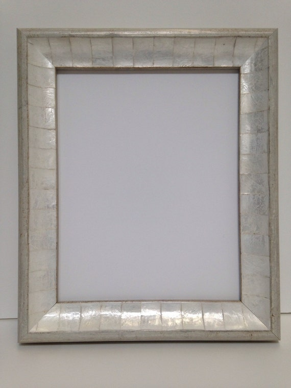 White Abalone Shell Picture Frame Mother Of Pearl