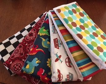 Burp cloths made to order