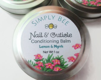 Nail & Cuticle Conditioning Balm, Cuticle Salve, Cuticle Cream