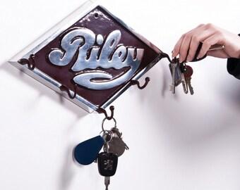 Riley motors Car hook and key rack