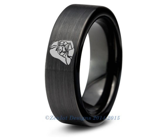 darth vader wedding ring wars darth vader tungsten wedding band ring by 3313