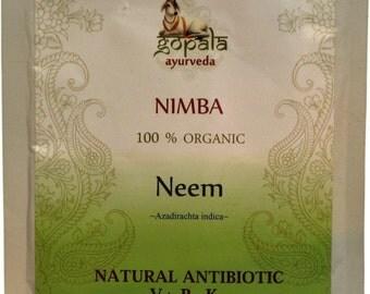 Neem Powder (USDA Certified Organic) - Gopala Ayurveda