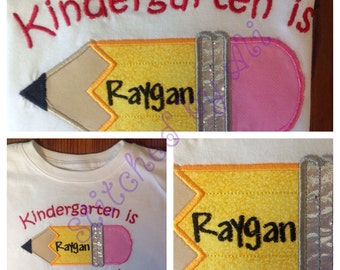 Kindergarten Is Awesome Back to School Shirt