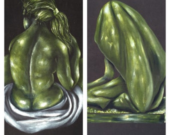 Black Velvet Paintings  Two Peas in a Pod Prints ReFabulousReVamped  ReFabulous