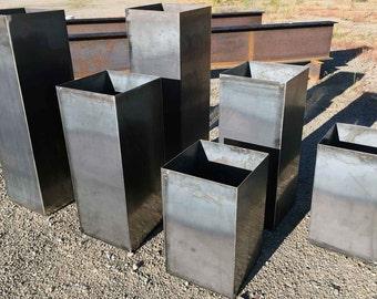 Custom Steel Planter Boxes