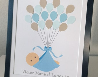 Baby Shower Guest Book Sign In Alternative