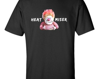 Heat Miser T Shirt Year Without A Santa Claus Holiday Christmas Tee