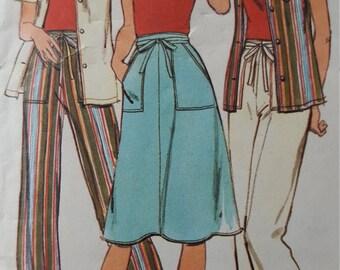 Vintage 1970s Butterick sportswear pattern