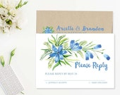Painted Floral Wedding Re...