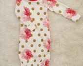 newborn gown, baby girl gown, newborn girl gown, baby sleep sack, baby, gown, baby girl gown, newborn gown girl
