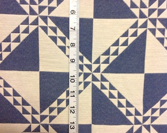 """42""""X 56"""" Home Dec Fabric Cheater Quilt Look"""