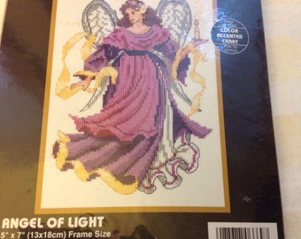 """Angel of Light Dimensions Counted Cross Stitch  5/7"""""""