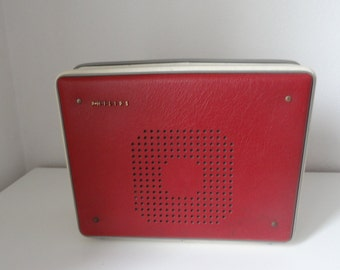 Record Player Philips from 50s