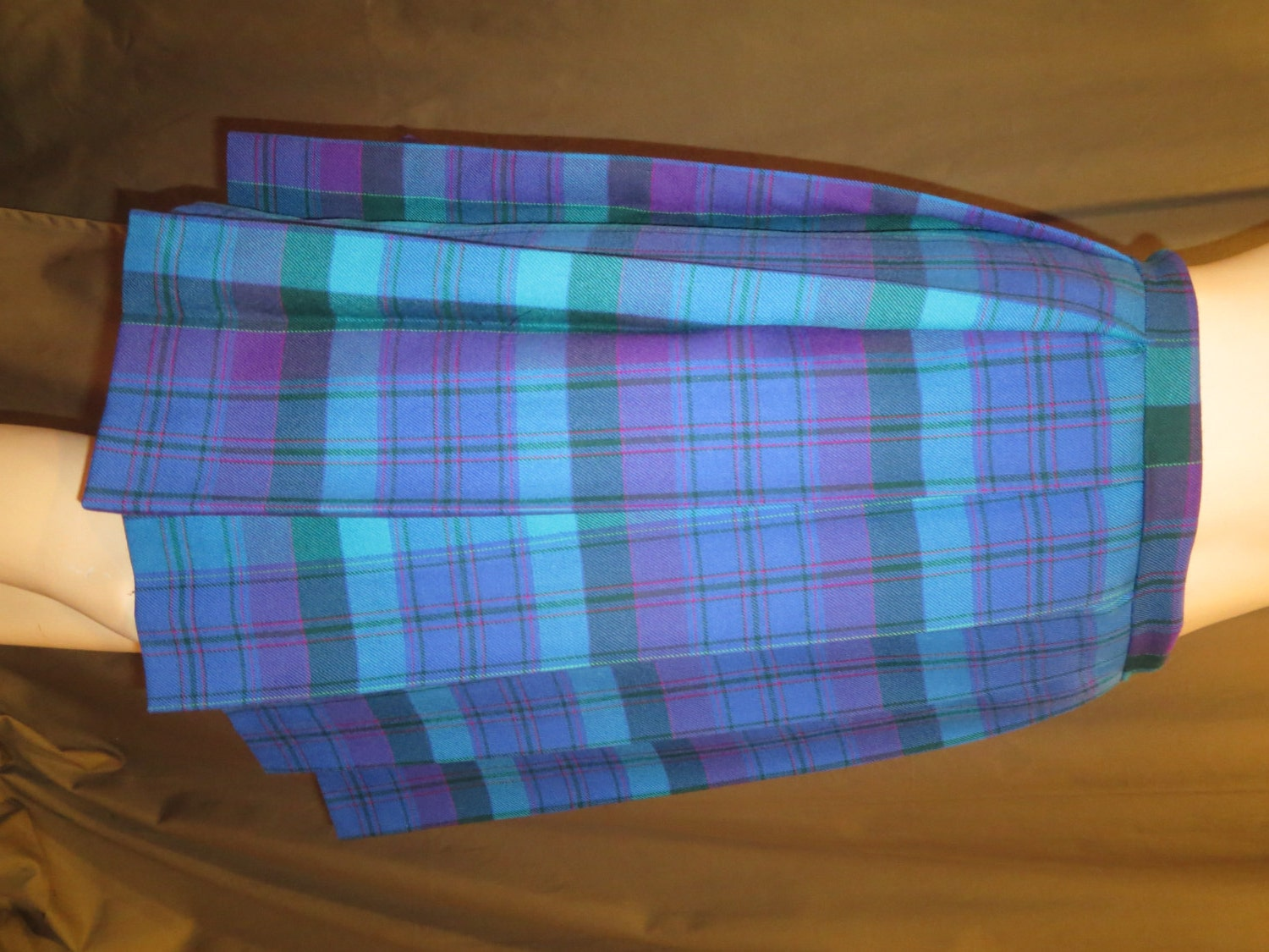 purple blue plaid pleated skirt 20 skirtsmall to