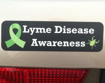 Lyme Disease Awareness Car Magnet