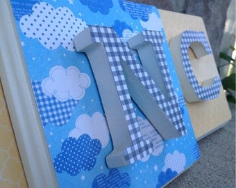 Name Letters, Nursery Letters, Decorative Letters, Wall Letters, Wood Letters, Nursery Decor, Hanging Letters, Name Art, Baby Gift
