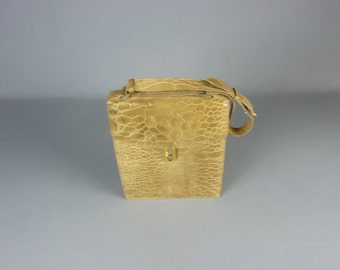 Vintage Genuine Turtle Skin Purse Made in Italy
